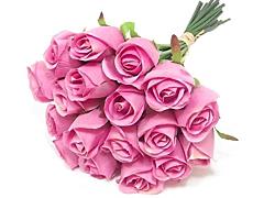 Medium Pink Roses- 40 / 50 cm Pack 100